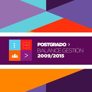 Secretaría de Postgrado | Balance de gestión 2009 – 2015