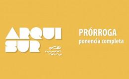 Arquisur 2017<br>Nueva fecha para el envío de ponencias completas