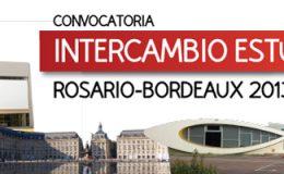 Intercambio estudiantil Rosario-Bordeaux 2013