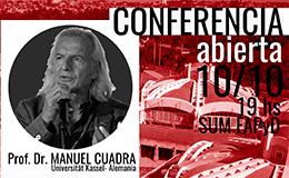 Conferencia abierta de Manuel Cuadra
