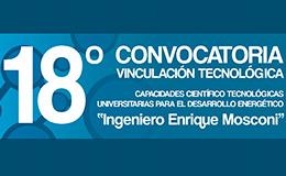 """Convocatoria de Proyectos de Vinculación Tecnológica """"Ingeniero Enrique Mosconi"""""""