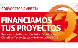 Convocatoria Abierta a Financiación de Proyectos