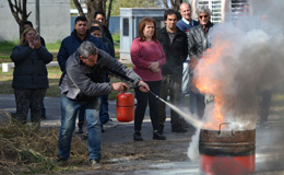 Jornada de Capacitación en prevención de incendios