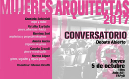 Ciclo Mujeres Arquitectas
