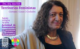 Conversatorio a cargo de la Dra. Arq. Ana Falú