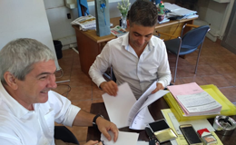 Firma de convenio de PPS con la Municipalidad de Fray Luis Beltrán