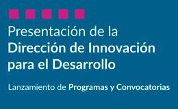 Dirección de Innovación para el Desarrollo | Presentación