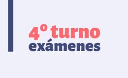 Reprogramación del 4° turno de exámenes