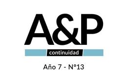 Convocatoria A&P Continuidad N° 13