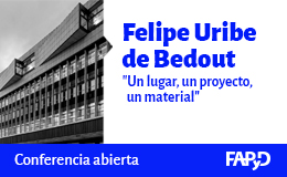 Conferencia abierta a cargo de Felipe Uribe de Bedout