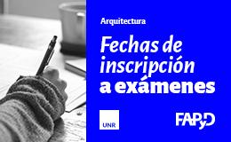 Inscripción a Exámenes<br/>Arquitectura