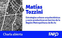 Charla abierta con Matías Tozzini