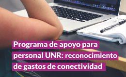 Programa de apoyo para el personal UNR