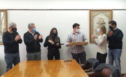 Estudiantes de la FAPyD distinguidos en el concurso «Pensando en Acero»