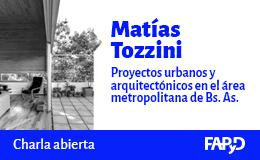 Charla abierta «Proyectos urbanos y arquitectónicos en la región metropolitana de Buenos Aires»